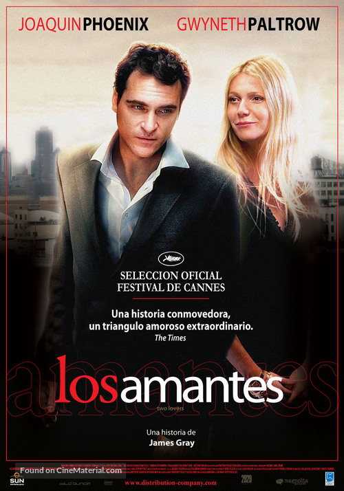 Two Lovers - Argentinian Movie Poster
