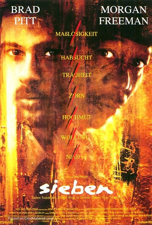 Se7en - German Movie Poster