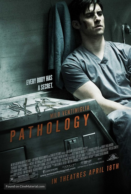 Pathology - Theatrical poster
