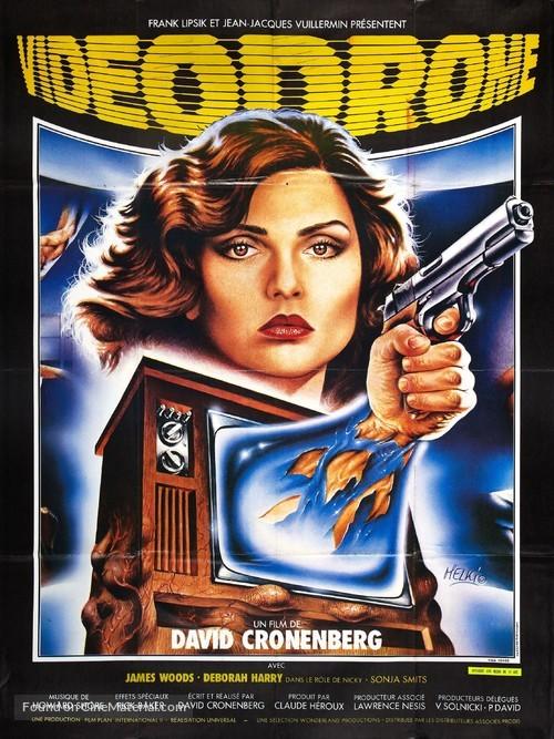 Videodrome - French Movie Poster