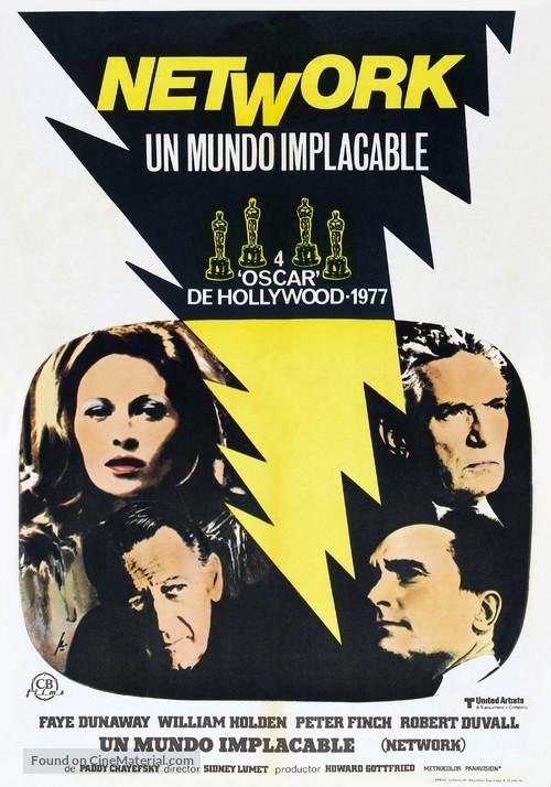 Network - Spanish Movie Poster