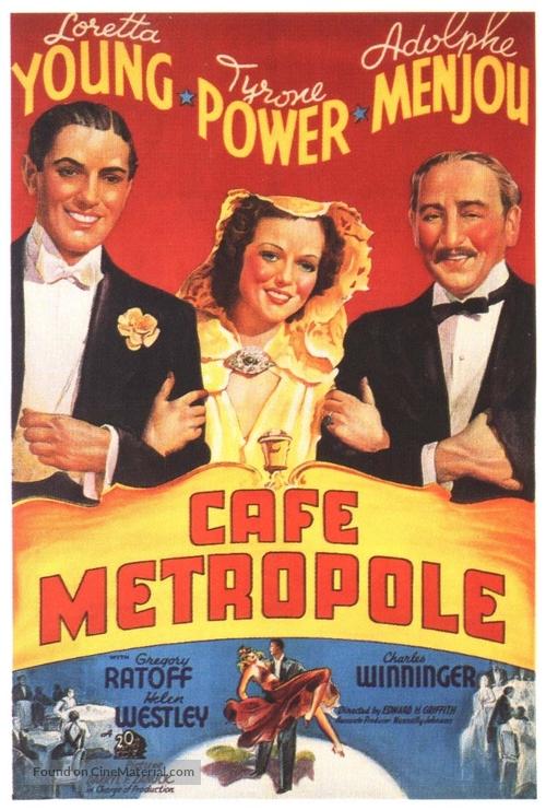 Café Metropole - Movie Poster