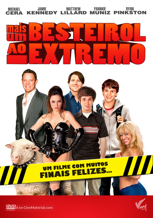 Extreme Movie - Brazilian DVD movie cover