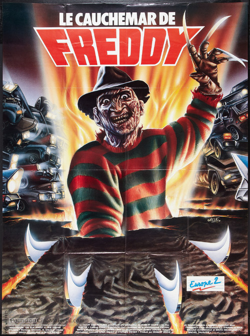 A Nightmare on Elm Street 4: The Dream Master - French Movie Poster