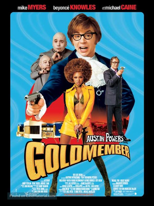 Austin Powers in Goldmember - French Movie Poster