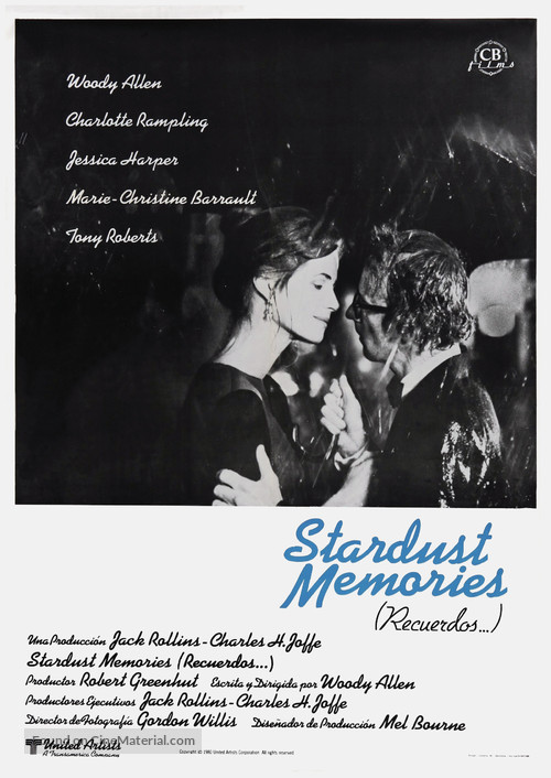 Stardust Memories - Spanish Movie Poster