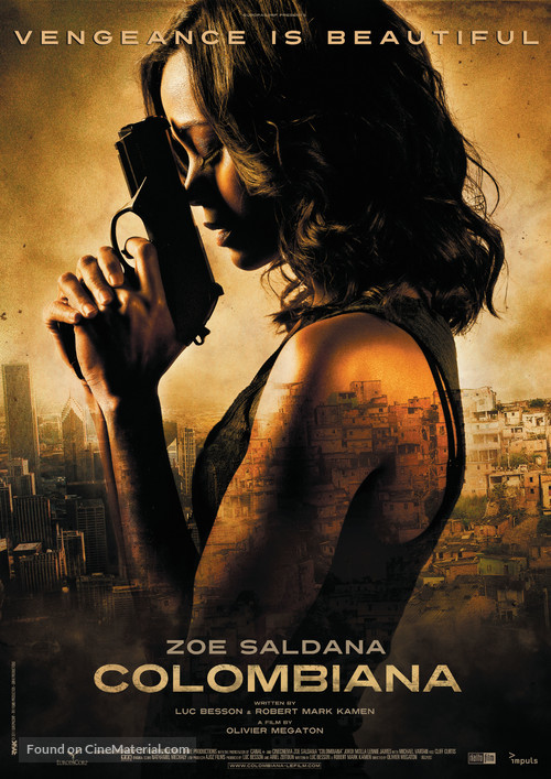 Colombiana - Swiss Movie Poster
