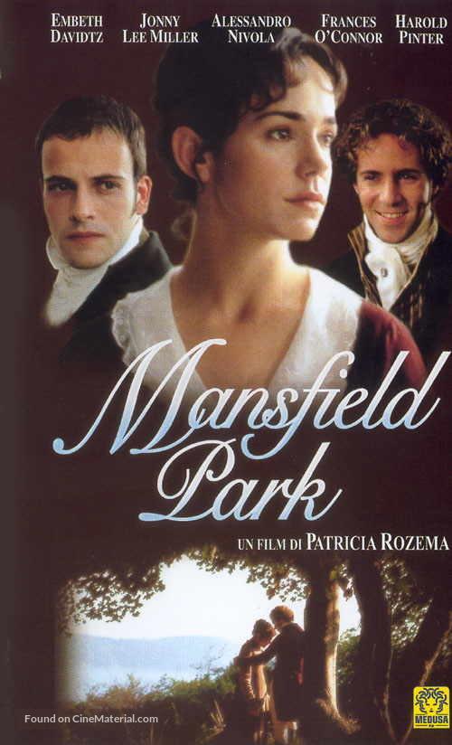 Mansfield Park - Italian VHS movie cover