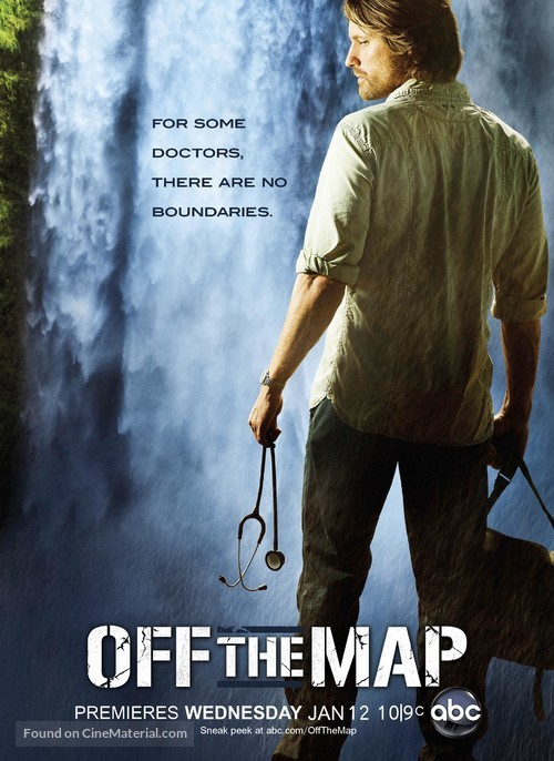 """""""Off the Map"""" - Movie Poster"""