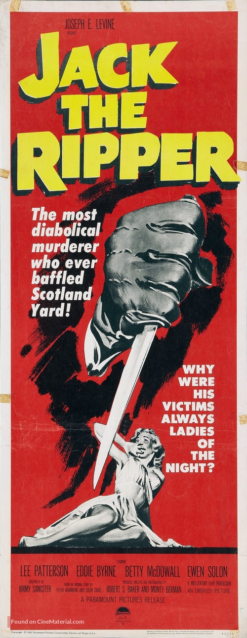 Jack the Ripper - Movie Poster