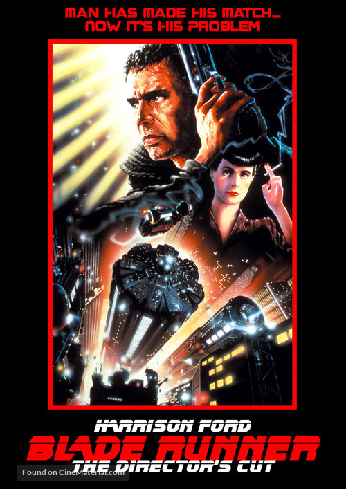 Blade Runner - DVD movie cover