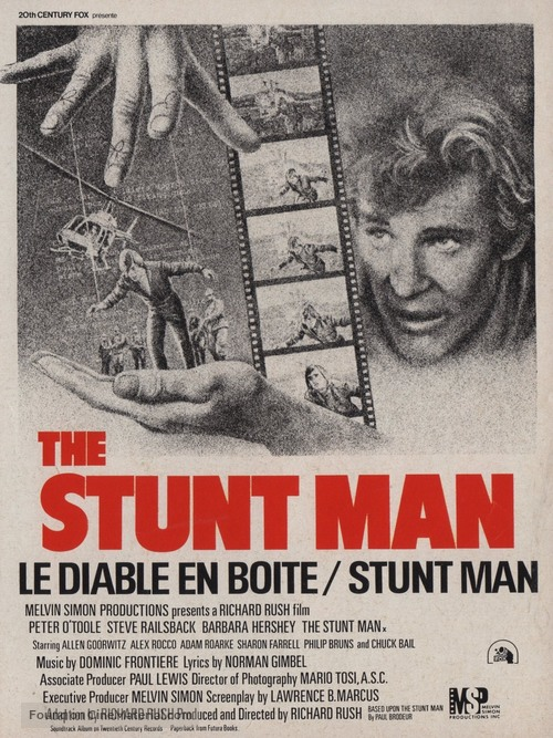 The Stunt Man - Canadian Movie Poster