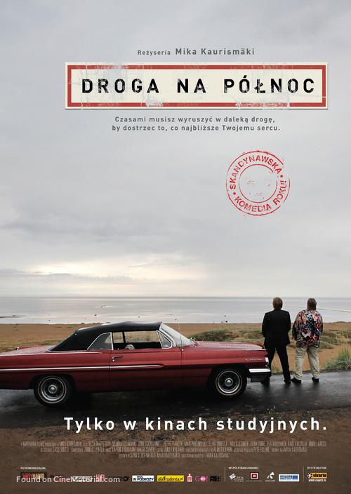 Tie Pohjoiseen - Polish Movie Poster
