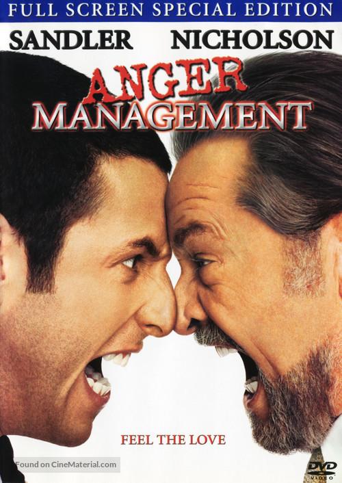 Anger Management - DVD movie cover