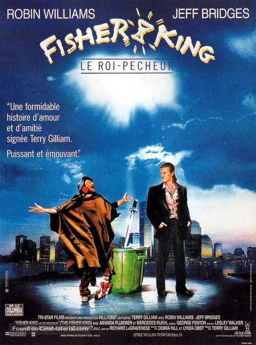 The Fisher King 1991 Movie Posters