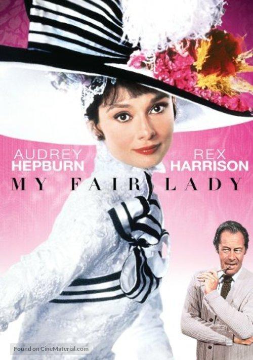 My Fair Lady - DVD movie cover