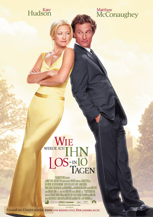How to Lose a Guy in 10 Days - German Movie Poster