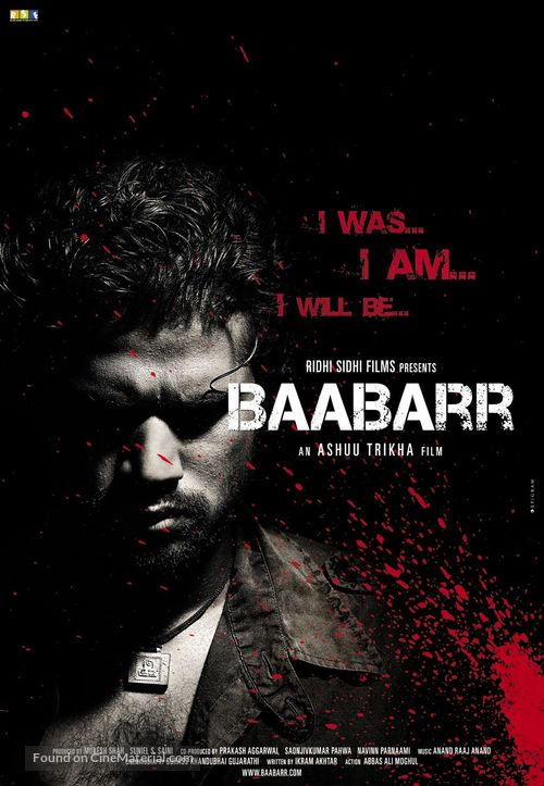 Baabarr - Indian Movie Poster