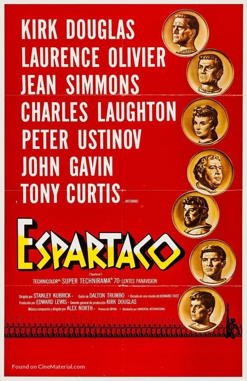 Spartacus - Spanish Movie Poster