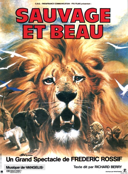 Sauvage et beau - French Movie Poster