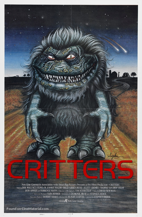Critters - Theatrical poster