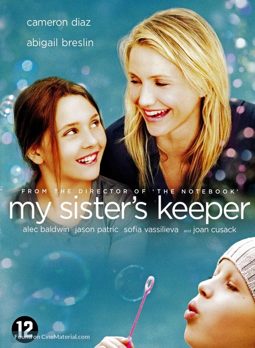 My Sister's Keeper - Dutch DVD movie cover