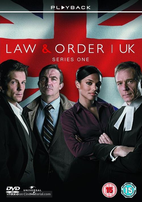 """Law & Order: UK"" - British DVD movie cover"
