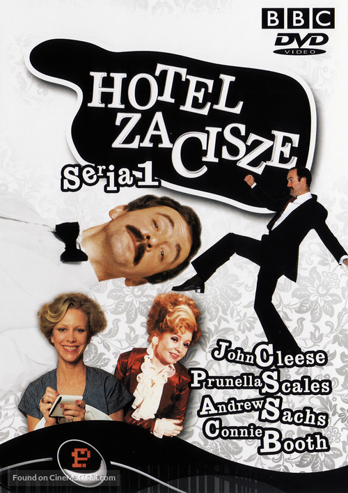 """""""Fawlty Towers"""" - Polish DVD movie cover"""