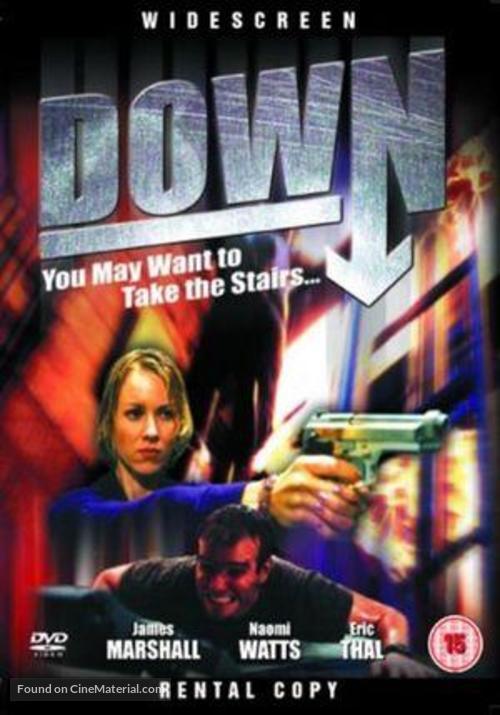 Down - British DVD movie cover