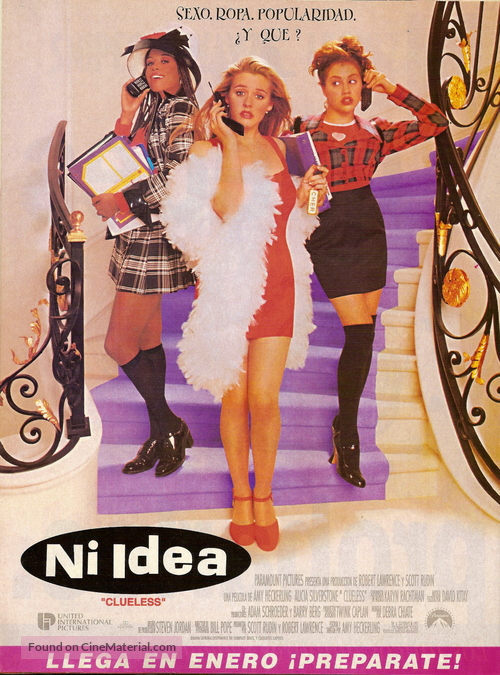 Clueless - Argentinian Movie Poster
