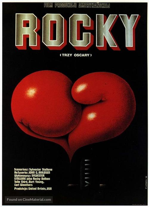 Rocky - Polish Movie Poster