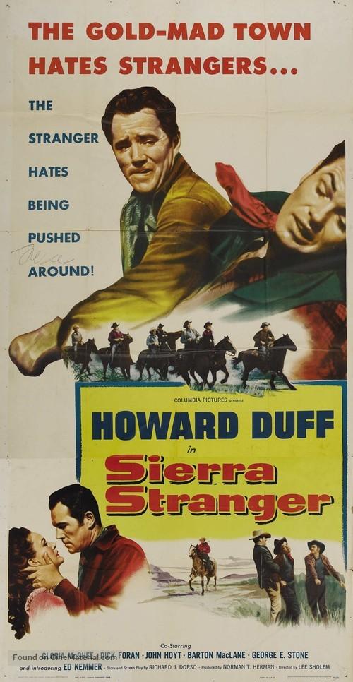 Sierra Stranger - Movie Poster