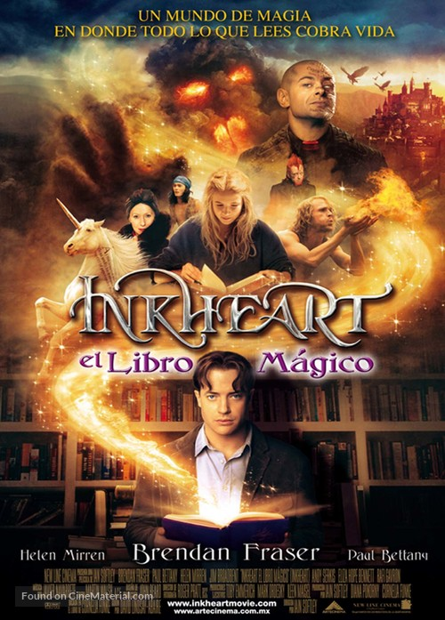 Inkheart - Mexican Movie Poster