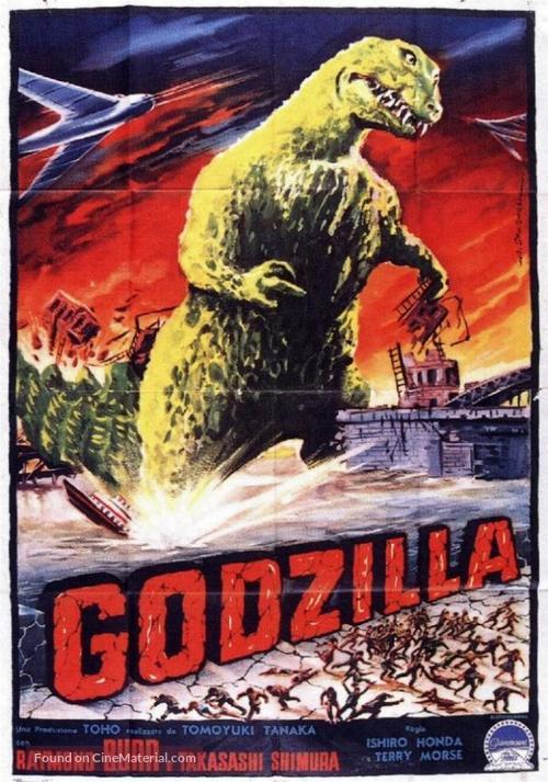 Godzilla, King of the Monsters! - Italian Movie Poster