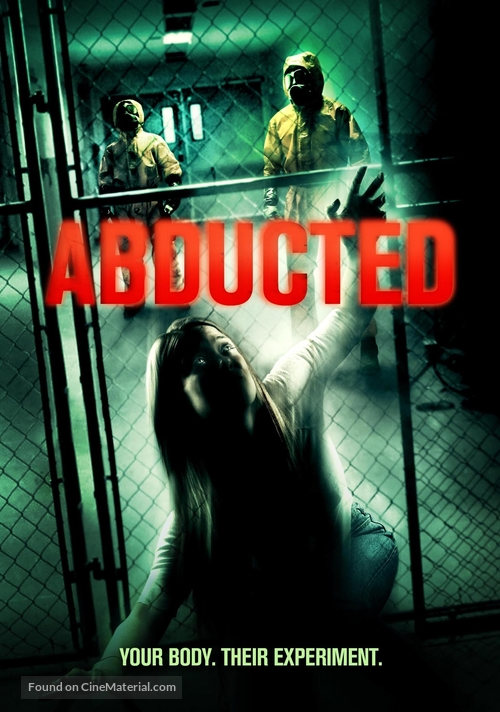 Abducted - DVD movie cover