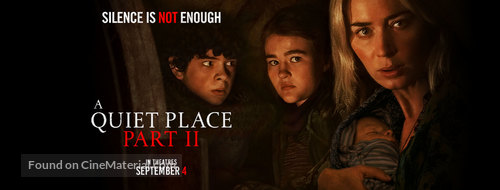 A Quiet Place: Part II - Philippine Movie Poster