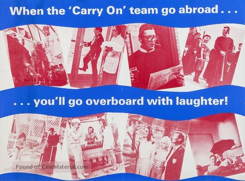 Carry on Abroad - British Movie Poster