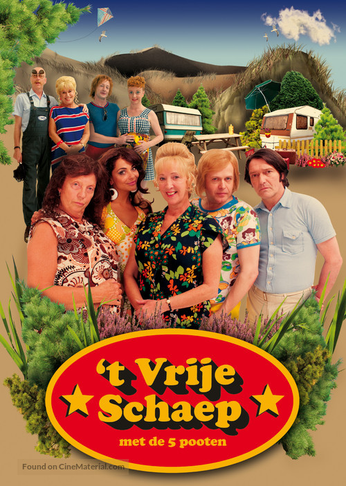 """""""Schaep Met De 5 Pooten, 't"""" - Dutch Movie Poster"""