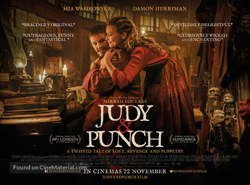 Judy & Punch - British Movie Poster
