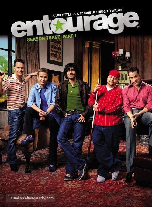 """""""Entourage"""" - DVD movie cover"""
