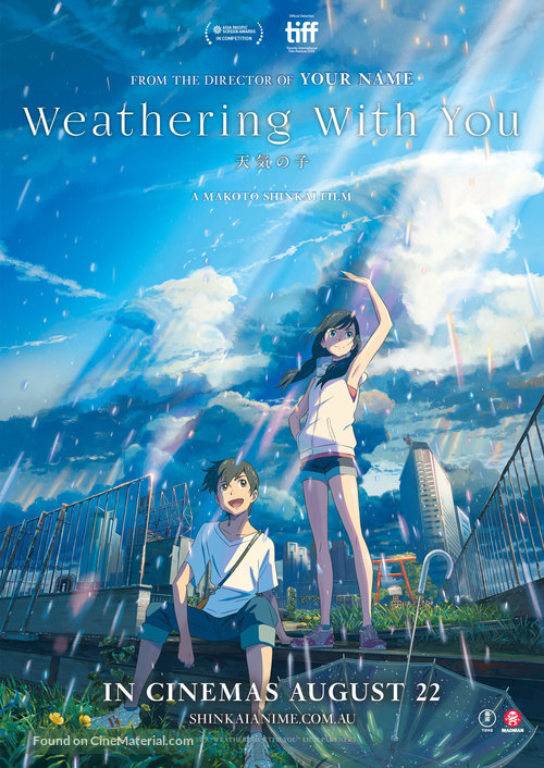 Weathering with You - Australian Movie Poster