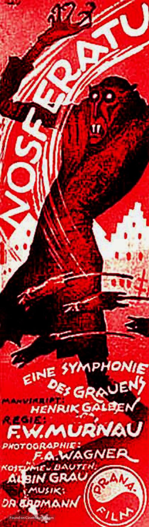 Nosferatu, eine Symphonie des Grauens - German Movie Poster