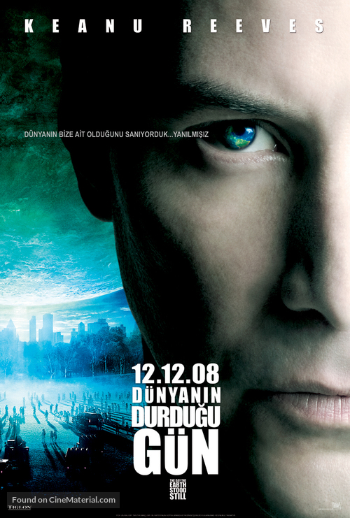 The Day the Earth Stood Still - Turkish Movie Poster