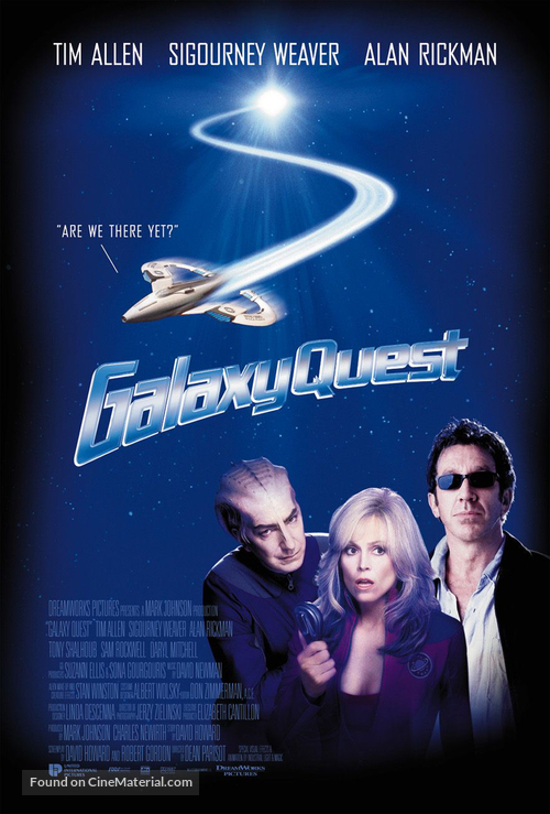 Galaxy Quest - British Movie Poster