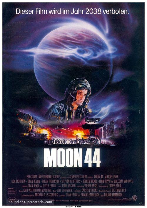 Moon 44 - German Movie Poster