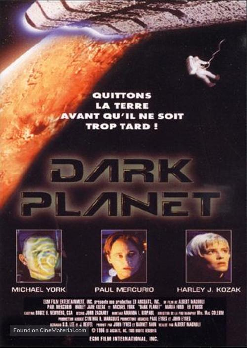 Dark Planet - French Movie Poster