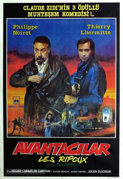 Les ripoux - Turkish Movie Poster