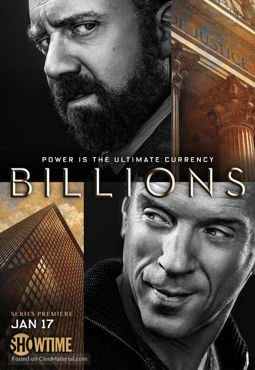 """Billions"" - Movie Poster"