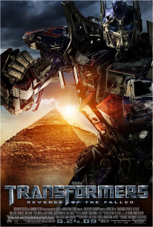 Transformers: Revenge of the Fallen - Movie Poster
