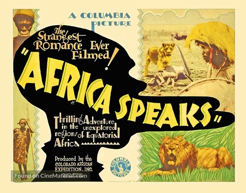 Africa Speaks! - Movie Poster
